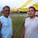 Alan Pahmahmie & Wah Wah Masquat (photo taken by Eddie Mitchell)