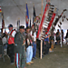 Colors Eagle Staffs in Grand Entry (photo by Larry Cole)