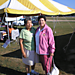 Julia & Mona at the gathering (photo by Larry Cole)