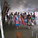 Head Lady & Head Man Dancers at Gathering (photo by Larry Cole)