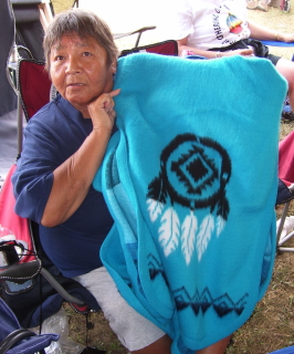 Maxine Begay (photo taken by Eddie Mitchell)