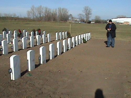 Row of vets